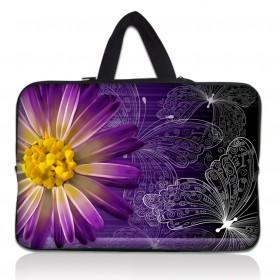 "Huado taška na notebook do 13.3"" Gerbera a motýle"