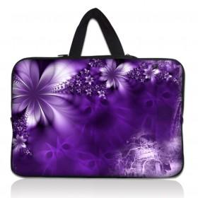 """Huado taška na notebook do 14.4"""" Fialové kvety"""