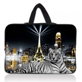 """Huado taška na notebook do 17.4"""" Biely tiger"""