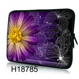 """Huado púzdro na notebook do 12.1"""" Gerbera a motýle"""