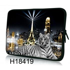 """Huado púzdro na notebook do 17.4"""" Biely tiger"""