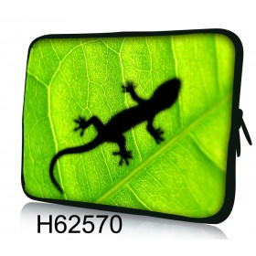 """Huado púzdro na notebook do 17.4"""" Zelený Gekon"""