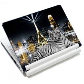 "Huado samolepka, skin na notebook 12""-15,6"" Biely tiger"