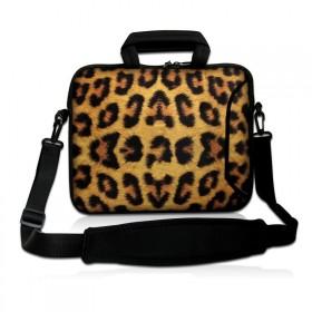 """Huado taška cez rameno do 15.6"""" Leopardí motiv"""