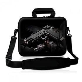 """Huado taška cez rameno do 15.6"""" Revolver 9 mm"""