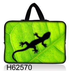 """Huado taška na notebook do 17.4"""" Zelený Gekon"""