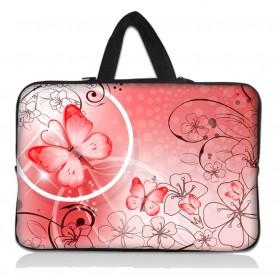 """Huado taška na notebook do 14.4"""" Rúžový motýľ"""