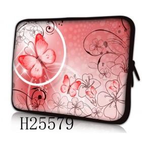 """Huado púzdro na notebook do 14.4"""" Rúžový motýľ"""