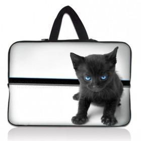 """Huado taška na notebook do 12.1"""" Čierny kocúr"""