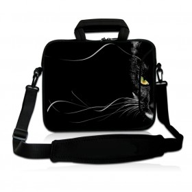 """Huado taška cez rameno do 17.4"""" Čierna puma"""