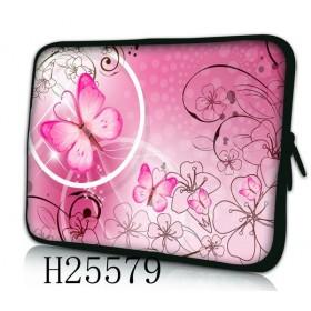 """Huado púzdro na notebook do 15.6"""" Rúžový motýľ"""