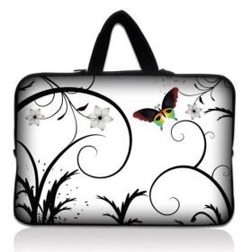 """Huado taška  pre notebook do 14.4"""" Farebný motýľ"""