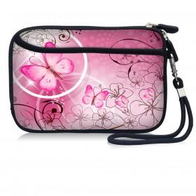 Huado kozmetické púzdro Ružový motýľ