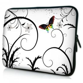 """Huado púzdro pre notebook do 12.1"""" Farebný motýľ"""