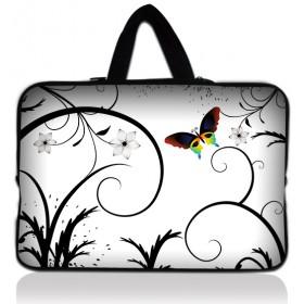 """Huado taška na notebook do 12.1"""" Barevný motýl"""