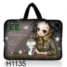 """Huado taška na notebook do 14.4"""" Holka s kafé"""