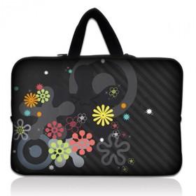 """Huado taška na notebook do 15.6"""" Gemetrické kytky"""