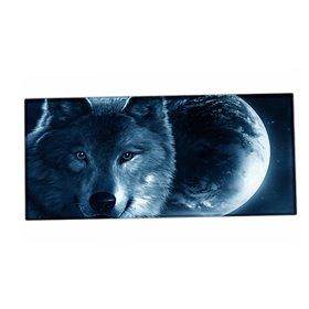 Huado XXL podložka pod myš Vlk a mesiac