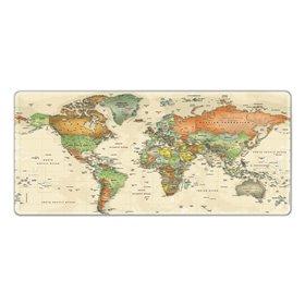 Huado XXL podložka pod myš Mapa sveta
