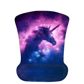 Huado ergonomická podložka pod myš Galaxy of Unicorn