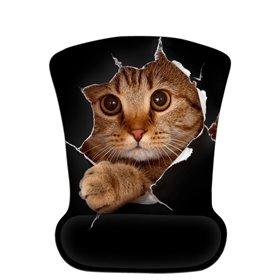 Huado ergonomická podložka pod myš Hravé mačiatko