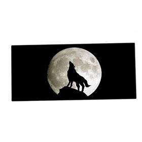 XXL podložka pod myš HUADO Vlk a úplněk
