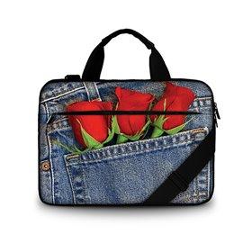 """Huado taška cez rameno 15.6"""" Jeans Love"""
