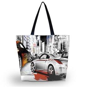 Huado nákupná a plážová taška - Dream Cars