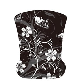 Huado ergonomická podložka pod myš Kvety a motýle