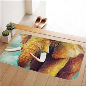 HUADO koupelnová předložka 60x40 cm Slon africký