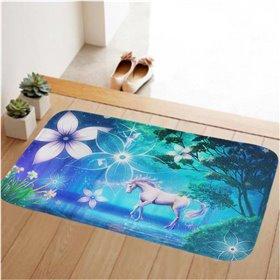 HUADO koupelnová předložka 60x40 cm Jednorožec