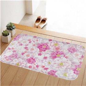 HUADO koupelnová předložka 60x40 cm Jarní květy