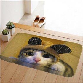 HUADO koupelnová předložka 60x40 cm Koťátko