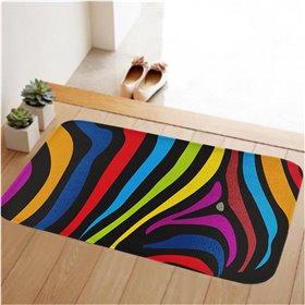 HUADO koupelnová předložka 60x40 cm Zebra color