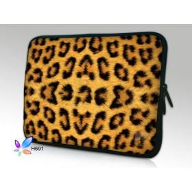 """Huado púzdro na notebook do 12.1"""" Leopardí motiv"""