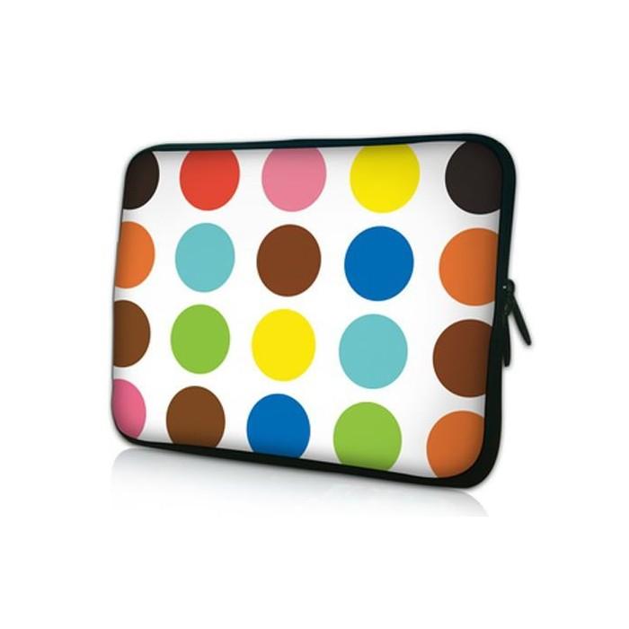 "Pouzdro Huado pro notebook do 13.3"" Polka dots"