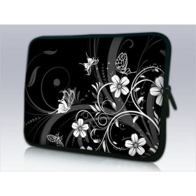 """Huado púzdro na notebook do 13.3"""" Kvetinky a motýle"""