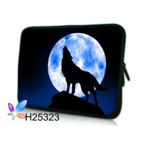 """Huado púzdro na notebook do 13.3"""" Vlk vyjúci na mesiac"""