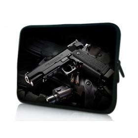 """Huado púzdro na notebook do 14.4"""" Revolver 9 mm"""