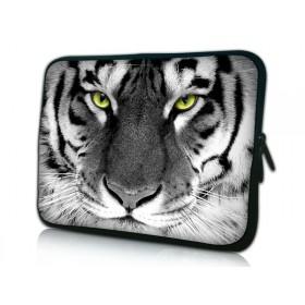 """Huado púzdro na notebook do 14.4"""" Čiernobiely Tiger"""