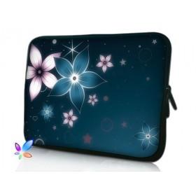 """Huado púzdro na notebook do 15.6"""" Modré kvety"""