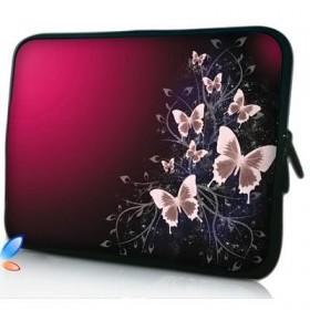 """Huado púzdro na notebook do 17.4"""" Motýle v bordo"""