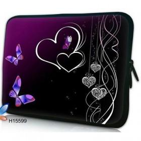 """Huado púzdro na notebook do 17.4"""" Dvojité srdce"""