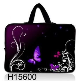 """Huado taška na notebook do 10.2"""" Purpurové motýle"""