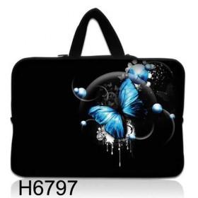 """Huado taška na notebook do 10.2"""" Modrý motýľ"""