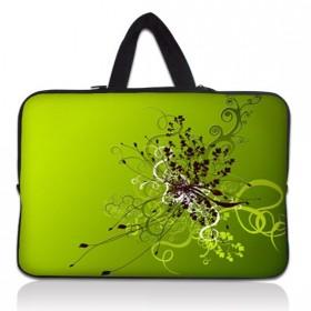 """Huado taška na notebook do 10.2"""" Zelený rozkvet"""