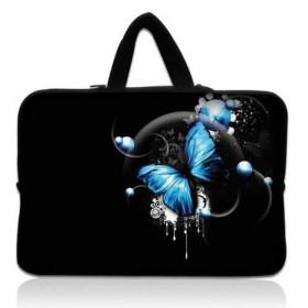 """Huado taška na notebook do 12.1"""" Modrý motýľ"""