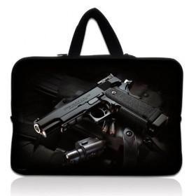 """Huado taška na notebook do 13.3"""" Revolver 9 mm"""