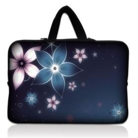 """Huado taška na notebook do 13.3"""" Modré kvety"""