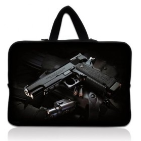 """Huado taška na notebook do 15.6"""" Revolver 9 mm"""